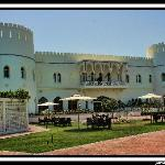 Sohar hotel, inside as fort
