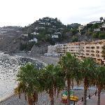 playa vista desde el hotel
