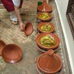 tagines from the cooking class