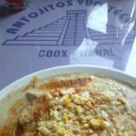 Papadzules. Coox Hanal. Restaurante de comida yucateca en México D.F.
