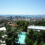 Blick von Terrasse inkl. Garten & Pool