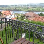 Vista de la ria desde el balcon