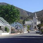 Beautiful and charming town of Montagu
