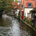 Picturesque Bruges.