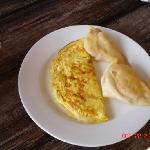 Fry Jacks & Cheese Omelet