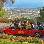 Amazing DeeTours view of the Santa Barbara Riviera
