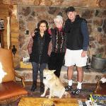My Regina, Nancy, Heidi, the dog and me