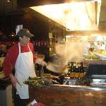 Chef making it happen