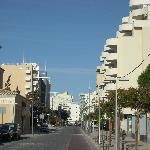 view of the street