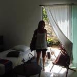 Habitacion muy grande linda comoda limpia!