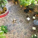 Patio in daytime