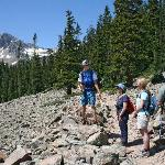 Guided hikes are offered all summer long.