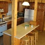 Roomy kitchens