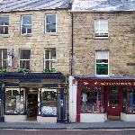 Alnwick Village shops - very quaint
