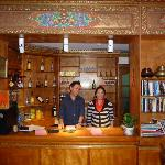 restaurant reception and staff