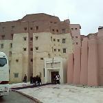 L'entrée de l'hotel