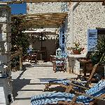 Seahorse House veranda