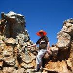 The Beauty Queen between 2 Rocks