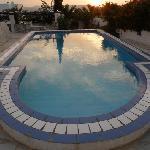 Villa Randiana pool in September