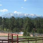 Pikes Peak from the ranch