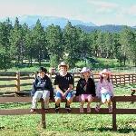 Family at Ranch