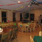 Woodland Room for Birthday parties