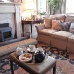 tea in sitting room