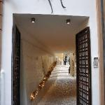 Entry way to Hotel Art