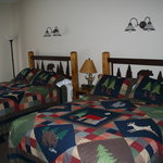 Inside our cozy rooms!