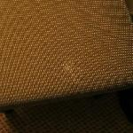 Verschmutzter Sessel