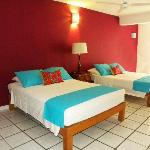 """Quizas quizas quizas"" a Superior Double Double Room  with a balcony and downtown view"