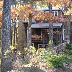 Lake Rabun Hotel in Autumn