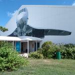 """""""Concorde Experience"""" hangar"""