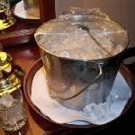 Actual tin BUCKET of ice