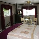 Inside the Peach Orchard Cottage