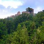 Althes Schloss Castle ruins from the park