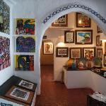 Casa Pueblo - inside