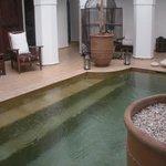 piscina  a piano terra