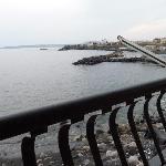 Terasse mit Meeresblick
