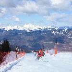The Grand Massif ski area
