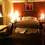 desk/bed in great room
