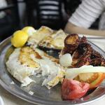 Fresh, well seasoned, and perfectly grilled seafood  3
