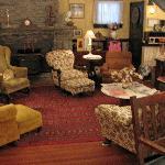 cozy warm lobby