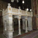 The muezin's place in Al Rifai mosque, Cairo