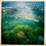 View from the top of Petrin Tower