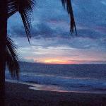Sunset on Puerto Viejo