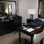 Embassy Suites - office area.