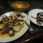 The chiperones Brocetta was not so good..chewy ~  BUT ~ this octopus was divine !!  VERY GOOD