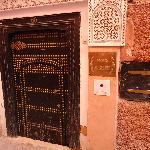 Entrada do Riad