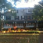 Fall view of the Huntting Inn